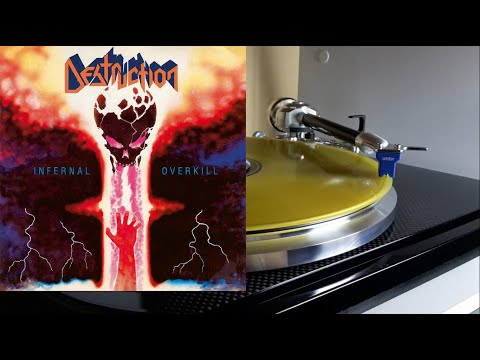 DESTRUCTION Infernal Overkill (Full Album) Vinyl rip