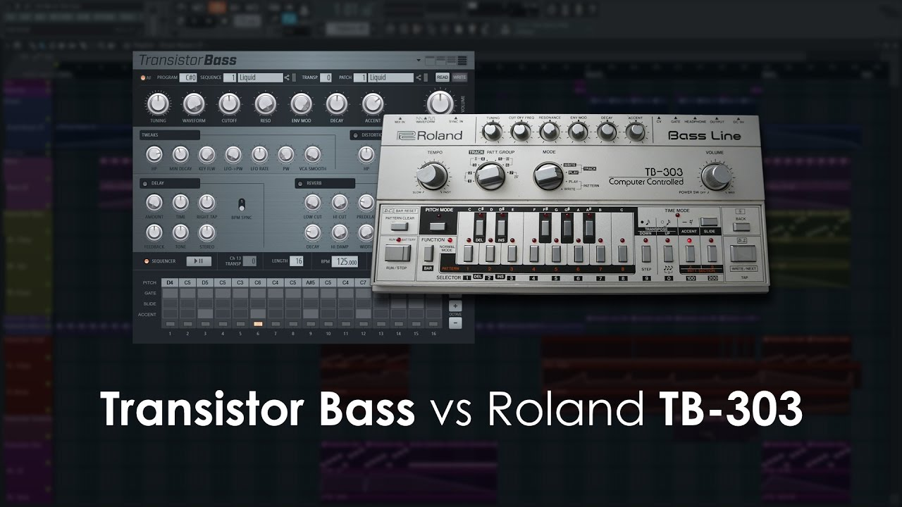 Transistor bass - Instrument Plugin