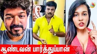 Vijay Style-ல் Mass பதிலடி கொடுத்த Sanjeev | Meera Mithun, Suriya, Trisha, Nepotism | Tamil News