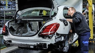 2015 Mercedes Benz C-Class Assembly Line