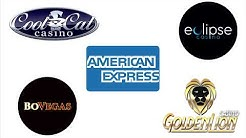 What are the best casino sites to gamble with American Express?