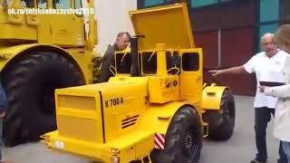 Мини-трактор К-700 Кирюха)