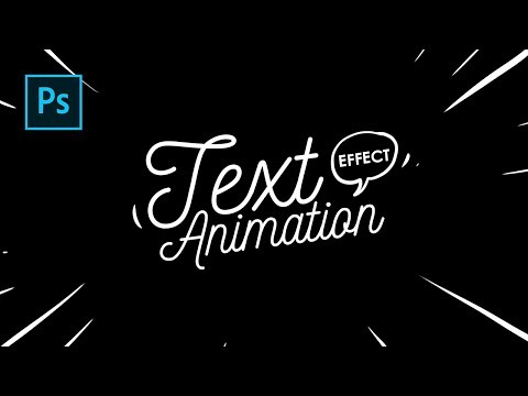 Cara Buat Lettering Text Effect Animation Dg Photoshop - Photoshop Tutorial Indonesia