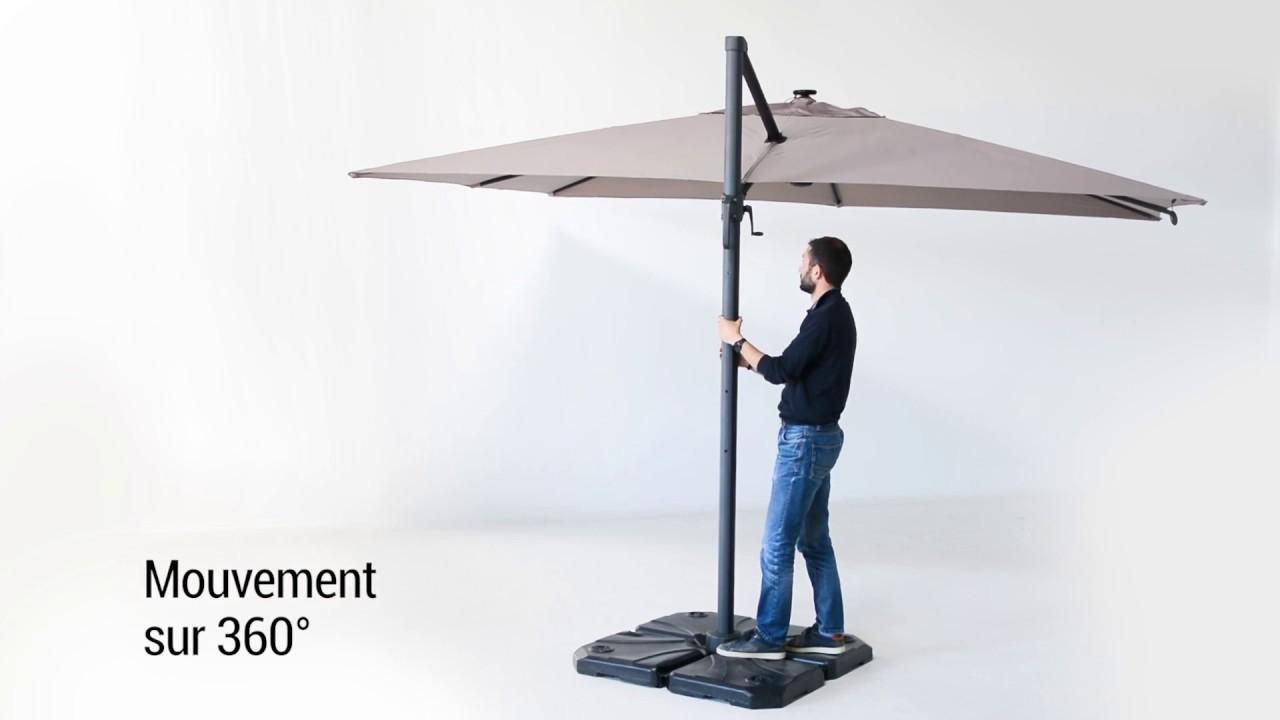 oogarden parasol d port 3x4 m roi youtube