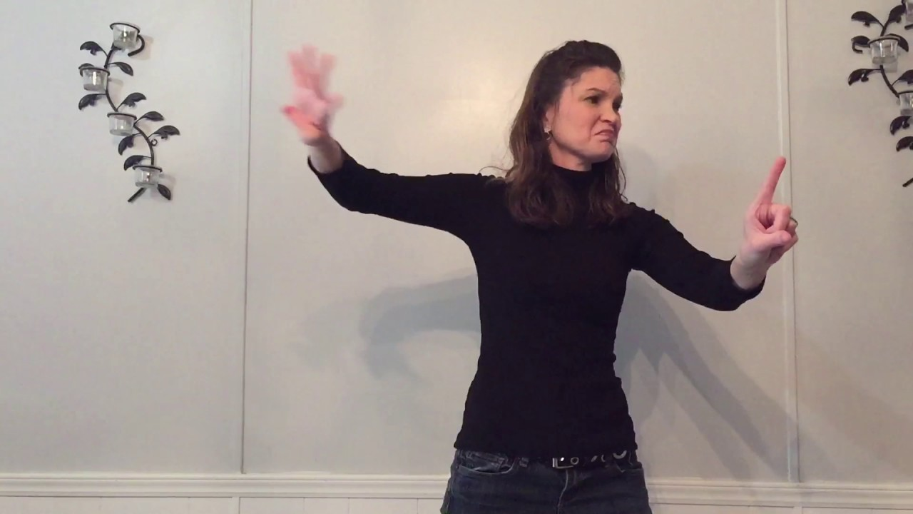 King Of The World By Natalie Grant In Asl Youtube
