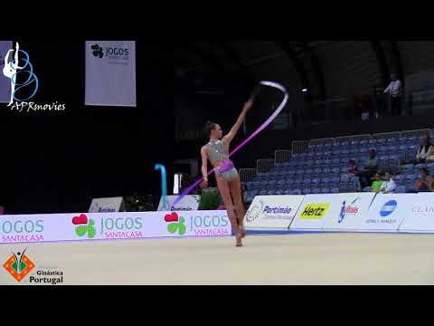 Adelina Beljajeva - EST - Fita (Ribbon) - Junior AA - IT Portimão 2018