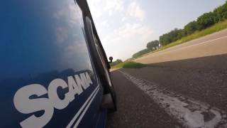 Short Preview of my day on a Scania 164 V8