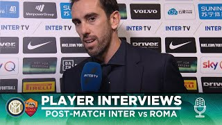 INTER 0-0 ROMA | GODIN + SKRINIAR + BORJA VALERO EXCLUSIVE INTERVIEWS [SUB ENG]