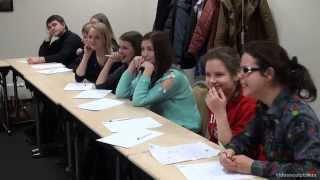 Видеосъемка дискуссии от videosculptor.ru (2013) - 2