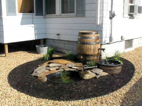 Whiskey Barrel Garden - Part #2 - YouTube