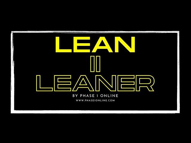 Lean II Leaner 6 Week Training Program with Mike Waters