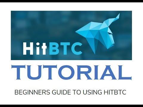 How to use HITBTC - HITBTC Tutorial