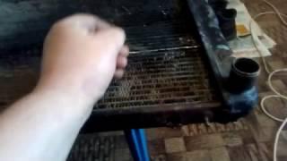 ремонт радиатора  своими  руками  от автомобиля(, 2017-03-31T16:44:04.000Z)