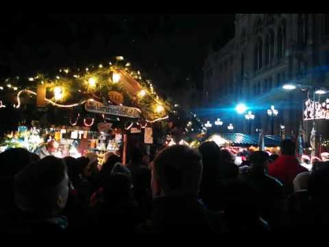 Weihnachtsmarkt Wien Eröffnung.Wiener Christkindlmarkt Rathaus Eröffnung 2016