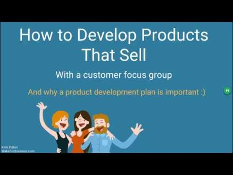 Create Products That Sell With a Customer Focus Group