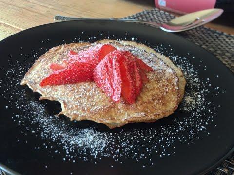 Pancakes SIN HARINA saludables 146 calorías - Nutrición con Sabor