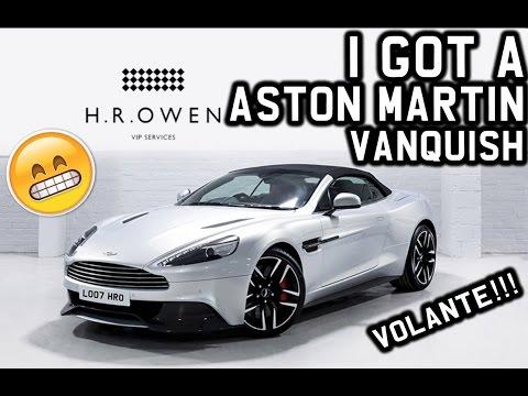 I GOT A 2017 ASTON MARTIN VANQUISH VOLANTE!!!!