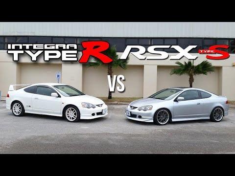 Integra Type R vs Acura RSX Type S