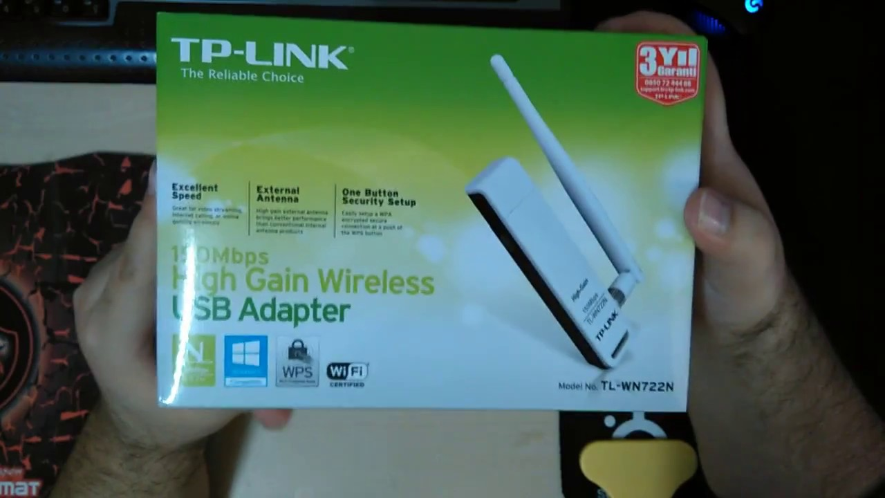 Tp link wifi adaptör