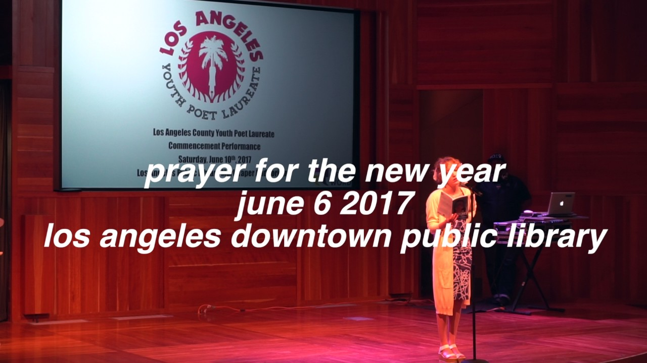 prayer for the new year [poem] - YouTube