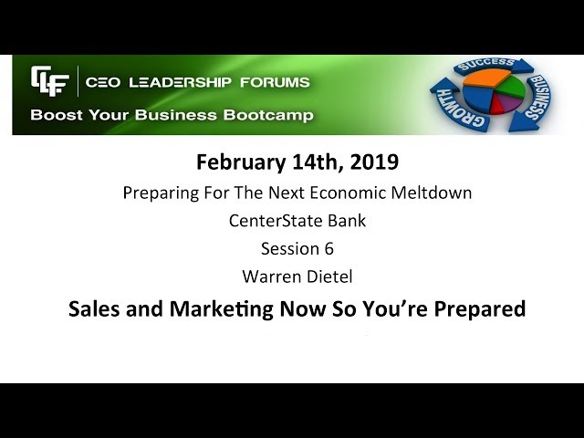 2019 02 14 CEO Leadership Session 06 Dietel