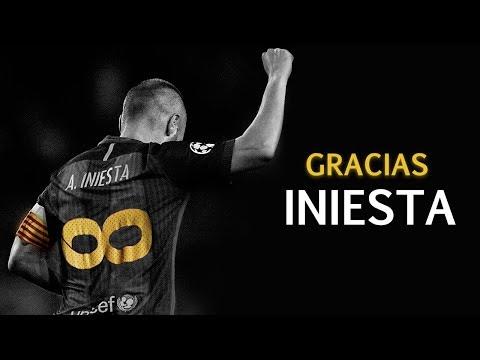 Gracias Andrés Iniesta | #Tribute