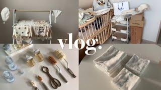 Vlog 일상 브이로그 | 하루종일 아기용품 빨래하기,…