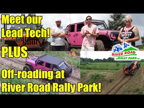 Meet our Lead Technician & Off-Roading Jeeps at the River Road Rally Park in McHenry, IL!