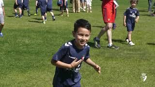 Fiesta de la Escuela de Fútbol de Fundación Osasuna