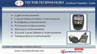Testing & Research Instruments by Vector Technologies, Hyderabad