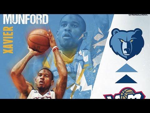 NBA D-League Gatorade Call-Up: Xavier Munford to the Grizzlies