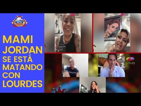 En Plena Crisis De Coronavirus, Mami Jordan Se Está Matando Con Lourdes