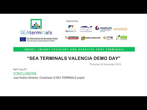 SEA TERMINALS Demo Day 7/7 (Valencia)