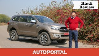 2019 Ford Endeavour Hindi Review – Simply the Best – Autoportal