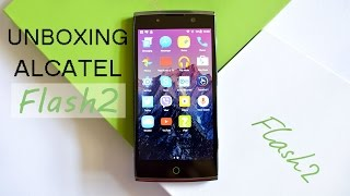 unboxing first impressions alcatel flash 2   gen zeltv