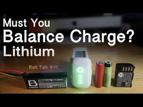 Must LITHIUM BATTERIES be BALANCE CHARGED ? #15