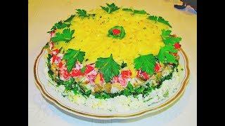 Салат с баклажанами, невероятно вкусный. Уж сколько раз готовила, а хочется ещё!