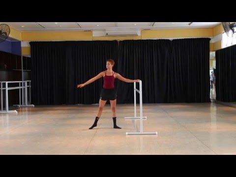 Ballet Class - SEAD Audition - Tinna Nicole Hernández