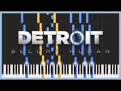 Opening Theme - Detroit: Become Human [Piano & Strings] (Synthesia) // Mr.Meeseeks Piano
