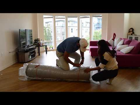 How To Move A Mattress | How To Return Mattress | How To Compress A Mattress Using A Vacuum Bag