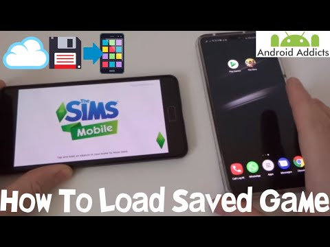 The Sims Mobile How To Load A Saved Game