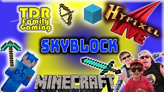 Skyblock Hypixel Stream - Minecraft because Roblox is down Stream