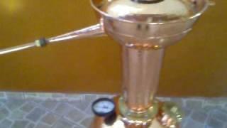 alambique caseiro para produção de cachaça santa efigenia.mp4