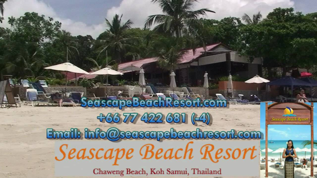 Seascape Beach Resort Chaweng