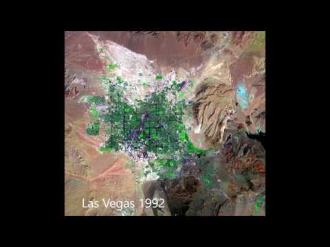 Las Vegas Growth 1972-2010