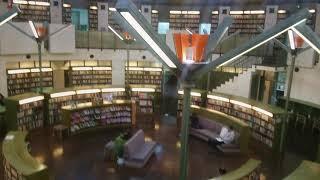 本の海に迷い込める図書館   図書館戦争の撮影他、ロケ地としても有名です 水戸西部図書館 Japan Architectural works
