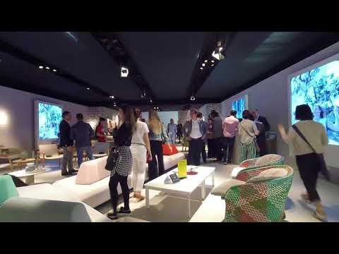 SALONE DEL MOBILE MILANO 2018 Varaschin time-lapse