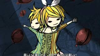 Miku ft. Rin ft. Len-Dark Wood Circus【Vocaloid PV】【Subtitle Indonesia + Lirik】