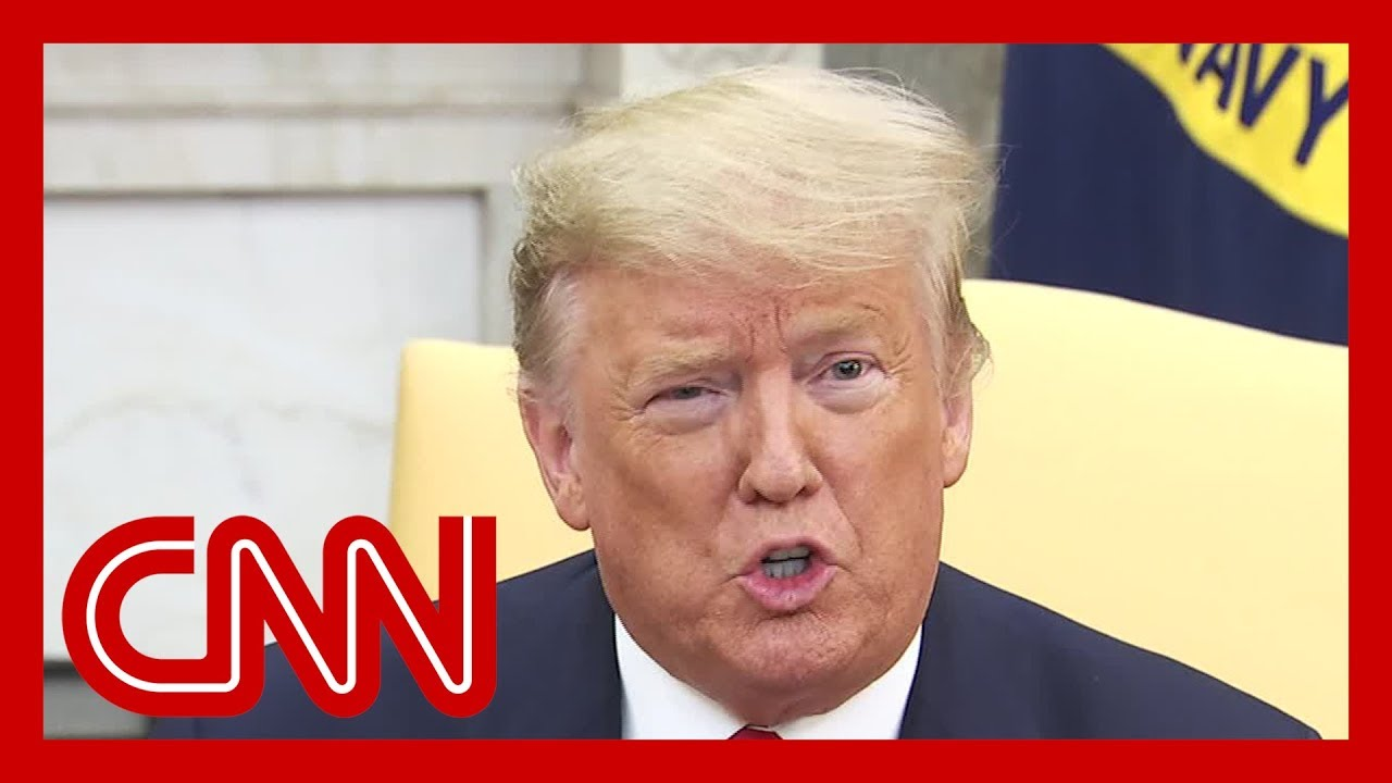 Reporter asks Trump what impeachment lessons he learned