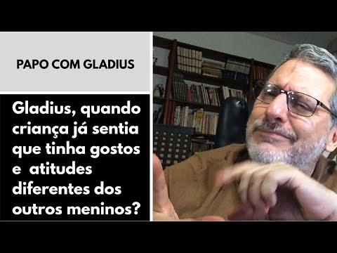 119/01 - Gladius, quando criança já sentia que tinha gostos e atitudes diferentes dos outros meninos?